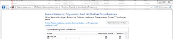 einfache Firewalleinstellungen - (Windows 7, Firewall)
