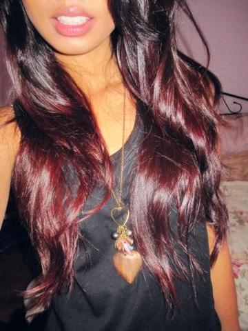 Schwarzes haar braun farben
