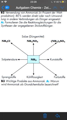 Warum wird Ammoniak als Grundchemikalie bezeichnet?