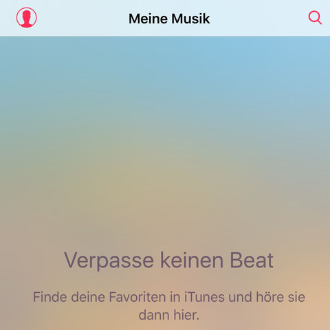 Normalerweise sind hier meine Songs - (Apple, iTunes, Synchronisation)