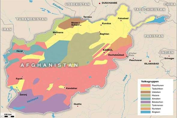 Why is not the Afghan state dissolved?