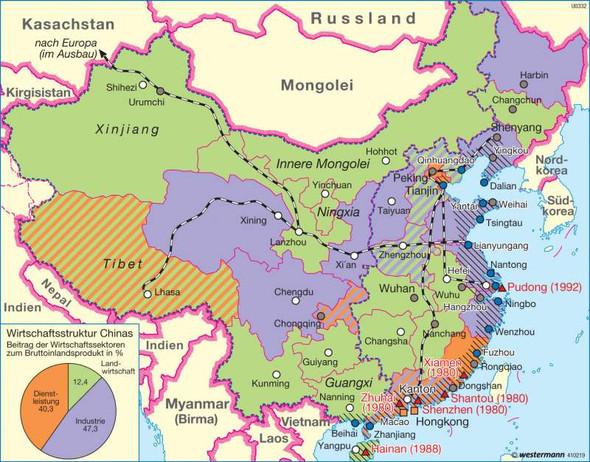 Landwirtschaft vorallem im Norden warum - (Wirtschaft, China, Landwirtschaft)