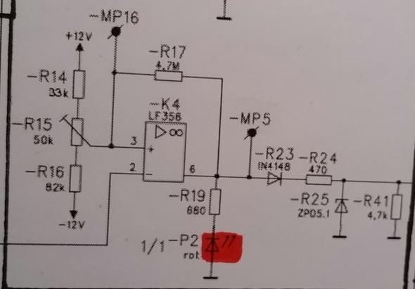 Warum wird die LED in sperrrichtung betrieben? Welche Funktion hat ...
