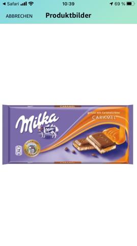 Warum wird diese Milka Schokolade nicht mehr verkauft?