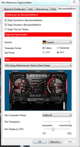 Die Einstellungen - (Computer, PC)