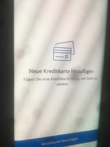Paypal Konto übertragen