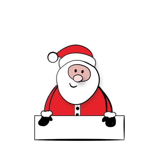 Warum wohnt der Weihnachtsmann am Nordpol und nicht am Südpol?