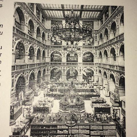 Warum wurden Kaufhäuser im Kaiserreich auch \