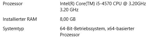 Systemsteuerung - (Windows 10, 64-Bit, Taskmanager)