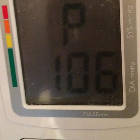 Was tun bei grad niedrigem Blutdruck? (Puls, Niedrig)