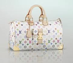 Louis Vuitton Handtasche Weiß