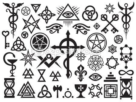 Was Bedeuten All Diese Symbole Freizeit Esoterik Okkultismus