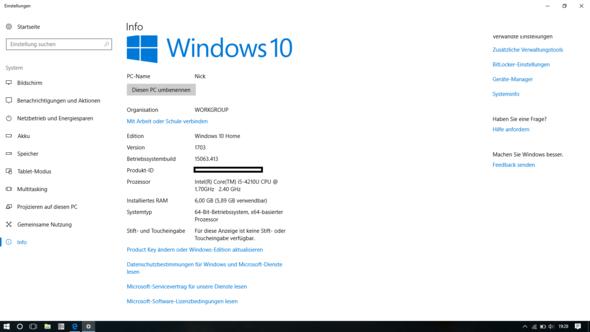 Hier ein screenshot - (Hardware, Notebook, Prozessor)