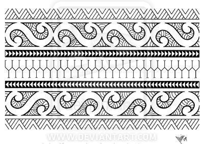 Was Bedeuten Die Einzelnen Zeichen Motive Dieses Maori Tattoos