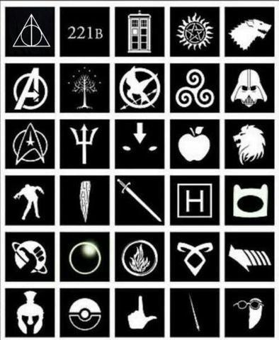 Welche Bedeutung haben diese Symbole? - (Film, Symbol)