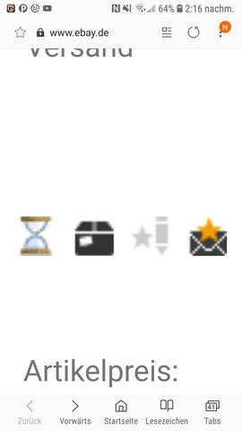 symbole ebay