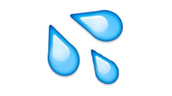 Wassertropfen Emoji