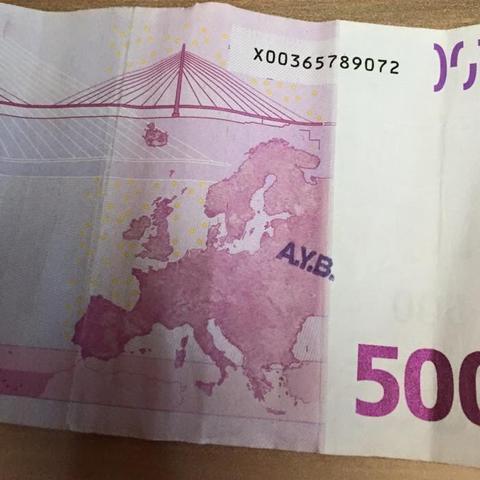 geldscheine markieren