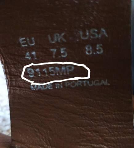 Was bedeutet bei den Schuhen shoepassion pantolette die 9115MP?