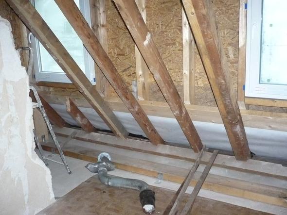 Dachgaube unten alt - (Haus, Wohnung, Handwerker)