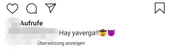 Was bedeutet das - Spanisch?