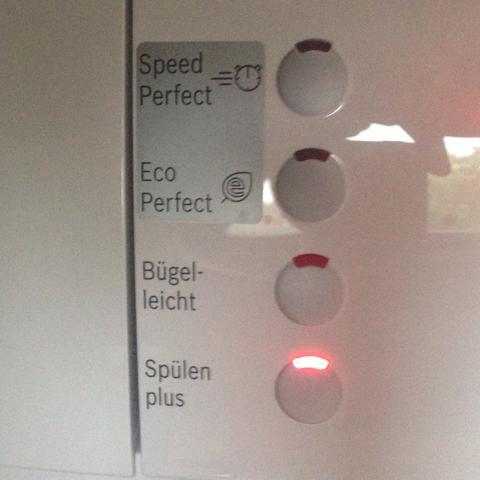 Was bedeutet Das alles bei einer Waschmaschine?