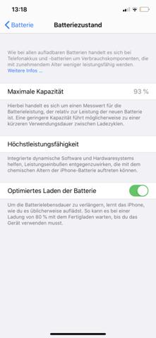 Was bedeutet das auf meinem iPhone, ist das schlimm?