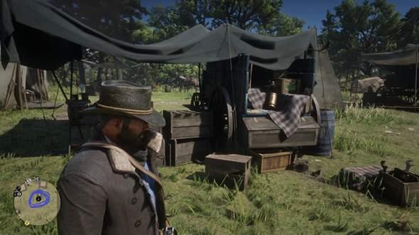 Was bedeutet das Ausrufezeichen an den Kartensymbolen (Red Dead Redemption 2)?