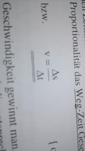 Was bedeutet das Dreieck vor dem t und s (foto dabei