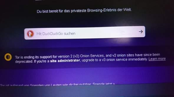 Was bedeutet das für das Darknet?