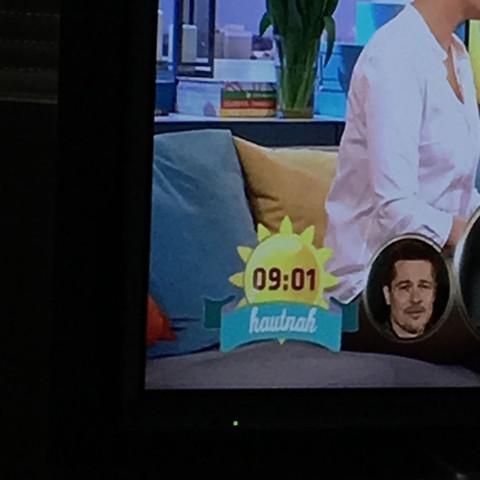 Hautnah Banner  - (TV, Fernsehen, Sat1)