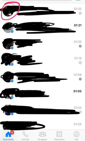 Was bedeutet das in Facebook? (Chat, Zeichen, Messenger)