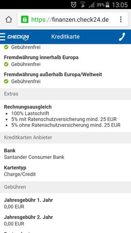 Rechnungsausgleich - (Kosten, Kreditkarte)