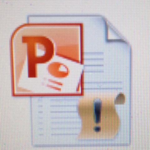Das ist der Icon, falls das jmdm Hilft - (Präsentation, Powerpoint)