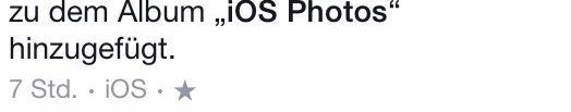 Was bedeutet das Sternchen wenn man Fotos in Facebook postet?Und warum sehe ich keine Fotos von einem Freund in Facebook ?