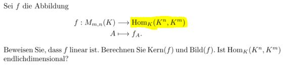 Die vollständige Aufgabe - (Mathematik, Homomorphismus)