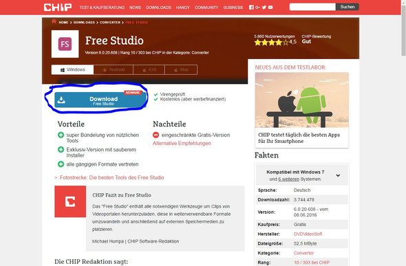Hier! - (Chip, Adware)