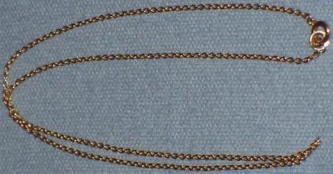 Goldkette, 590 Stempel - (Schmuck, Gold, Kette)