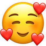 Was bedeutet der untenstehende Smiley genau - freundschaftlich oder in Liebe?