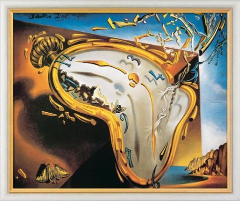 Gemälde von Salvador Dalí - (Zeit)