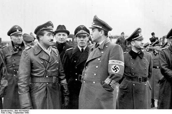 Albert Speer  - (Nationalsozialismus, 2. Weltkrieg, uniform)
