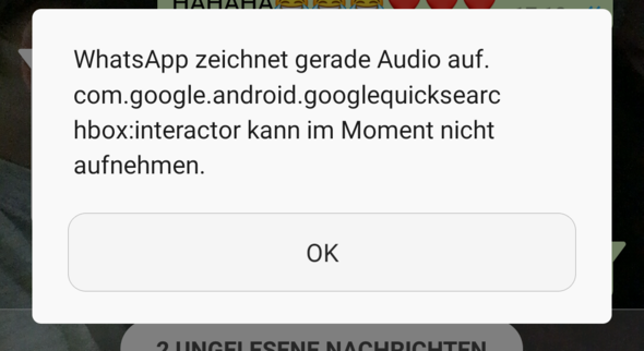 Diese Meldung - (WhatsApp, Snapchat, Meldung)