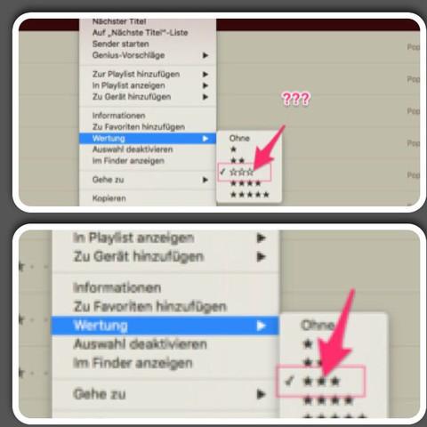 Wertung  - (Apple, iTunes, mp3)