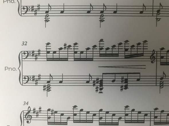 - (Musik, Klavier, Akkorde)