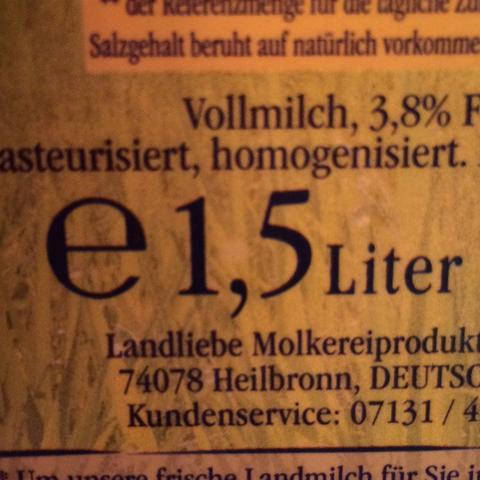 """... """"e"""" - (Lebensmittel, Produkte, Handelsprodukte)"""