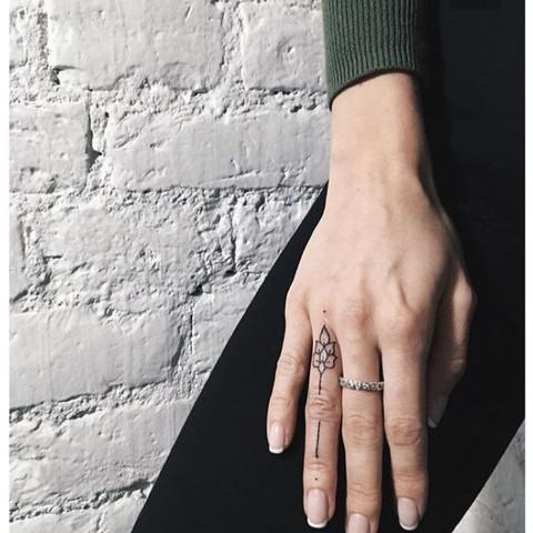 Das tattoo am Finger  - (Tattoo, Bedeutung, Finger)