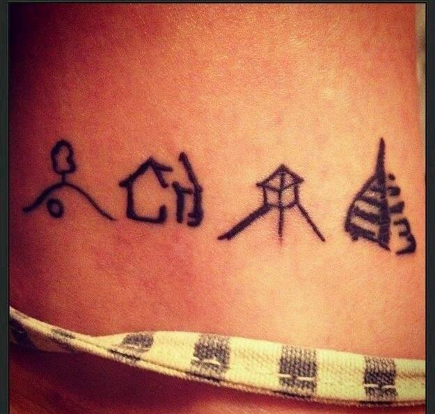 Tattoo baum der ringe herr Tattoos aus