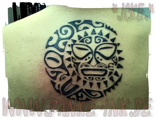 Das ist das Tattoo... - (Tattoo, Maori)