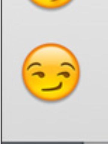 Was bedeutet dieses Smiley, es ist bei whatsapp? (Chat, SMS)