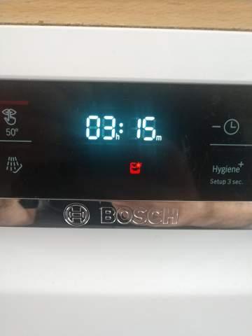 Was bedeutet dieses Symbol an meiner Bosch Spülmaschine?